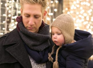 Vancouver BC Christmas holiday tour parent child