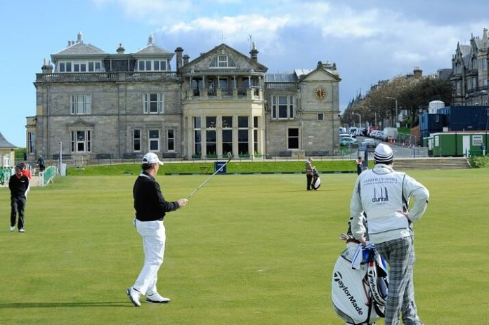 Win stay at Old Course Hotel in St. Andrews, Scotland & 2 rounds of golf for 2
