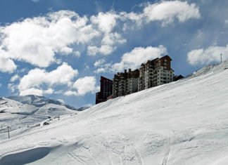 Top 5 hotels in Santiago Chile for a ski holiday