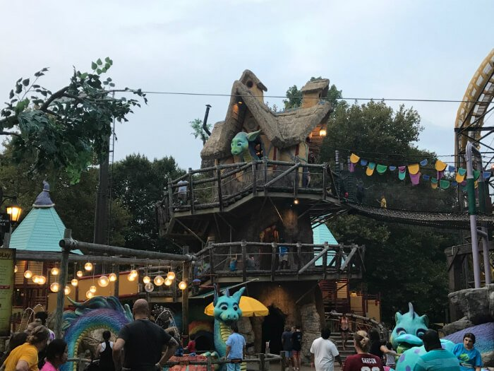 Land of the Dragons in Busch Gardens - kids activities in Williamsburg Virginia