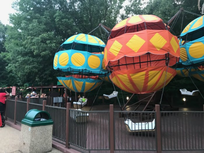 Busch Gardens rides for children in Williamsburg Virginia