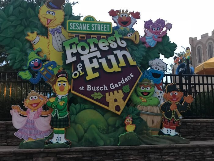 Sesame Street Forest of Fun at Busch Gardens - fun for kids in Williamsburg Virginia