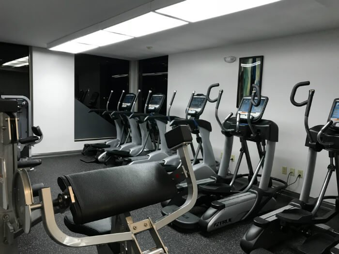 Downtown Pittsburgh hotel with fitness center