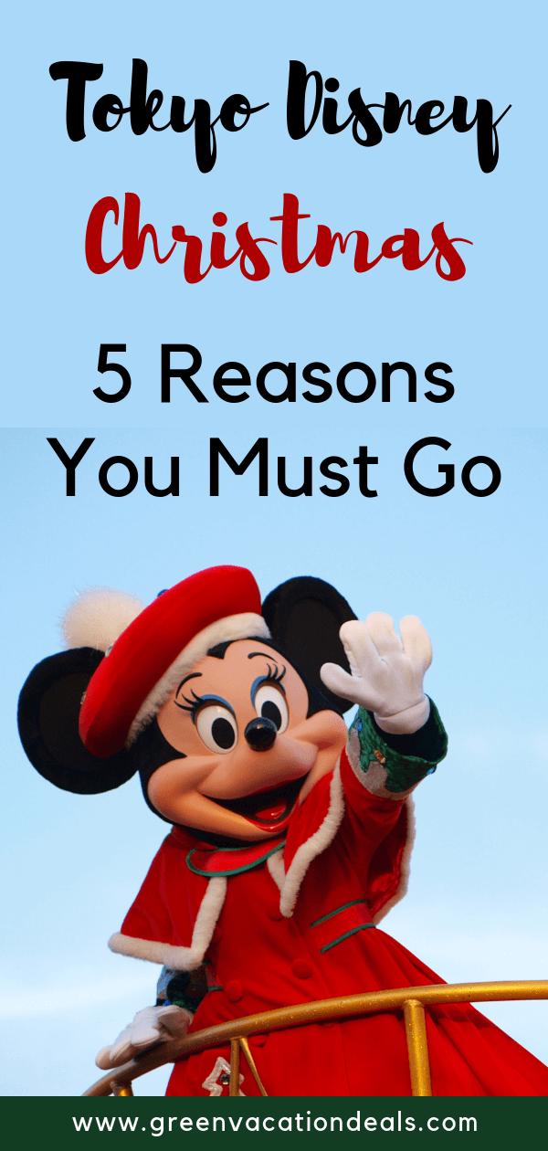 Why you should visit the Tokyo Disney resorts at Christmas