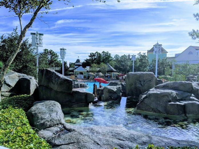 Walt Disney World holiday package includes return flight 1-bedroom villa at Saratoga Springs tickets