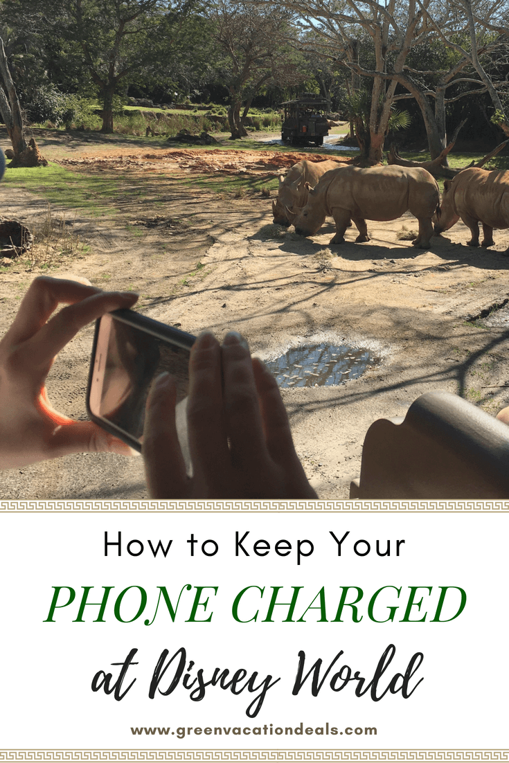 How to Keep Your Phone Charged at Disney World