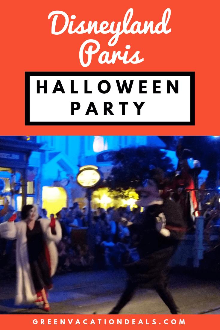 Disneyland Paris Halloween Party