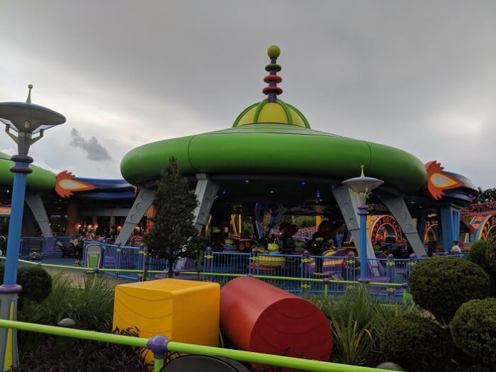 Toy Story Land in Disney World - limited time offer on how to save on theme park tickets