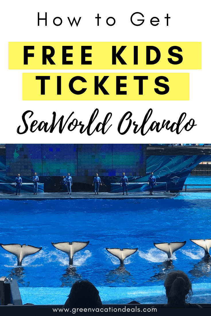 How to Get Free Kids Tickets to SeaWorld Orlando in Florida