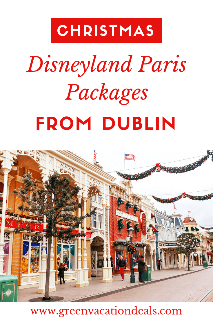 Disney Paris package deal sale, includes return flights from Dublin, stay at 4* hotel (Vienna Dream Castle, Vienna Magic Circus & Radisson Blu Hotel Paris Marne-la-Vallee) & reduced price two-park tickets (Disneyland & Walt Disney Studios)