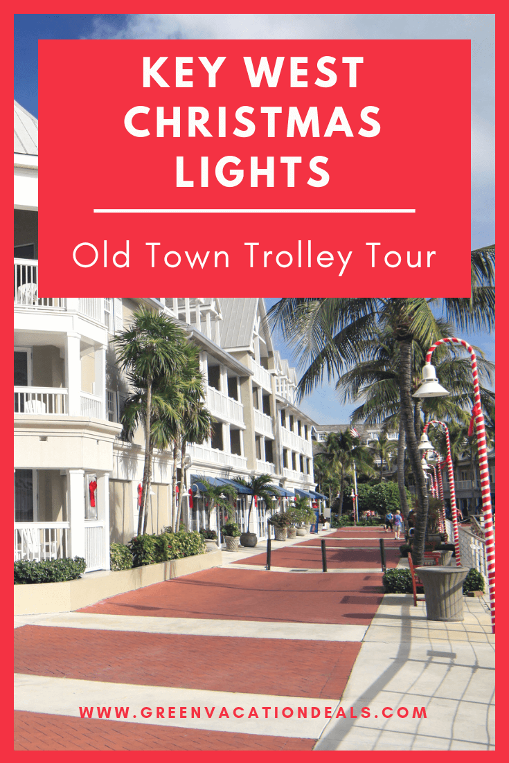 Key West, Florida is a great place to be during the winter & if you're there during the Christmas season, you could make your stay there really great by taking the Old Town Trolley's Holiday Lights Tour! You'll get free holiday cookies & apple cider on a 1 hour tour around Key West, Florida, where you'll see the island's most decorated neighborhoods, homes & buildings. You'll stay in the spirit with Christmas carols! Find out how to get discounted adult & children's tickets