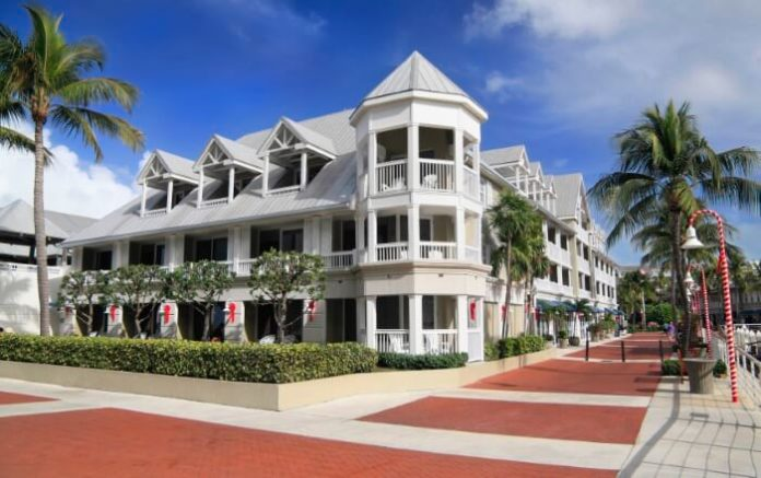 Enjoy seeing island's most beautifully decorated homes & buildings at Christmas on holiday trolley tour in Key West