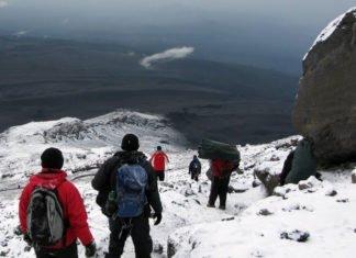 Which trek to take when climbing Mount Kilimanjaro in Tanzania