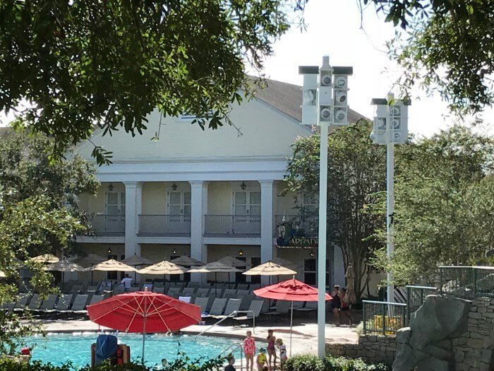 Kids can have fun at pool while adults enjoy Disney's Saratoga Springs too
