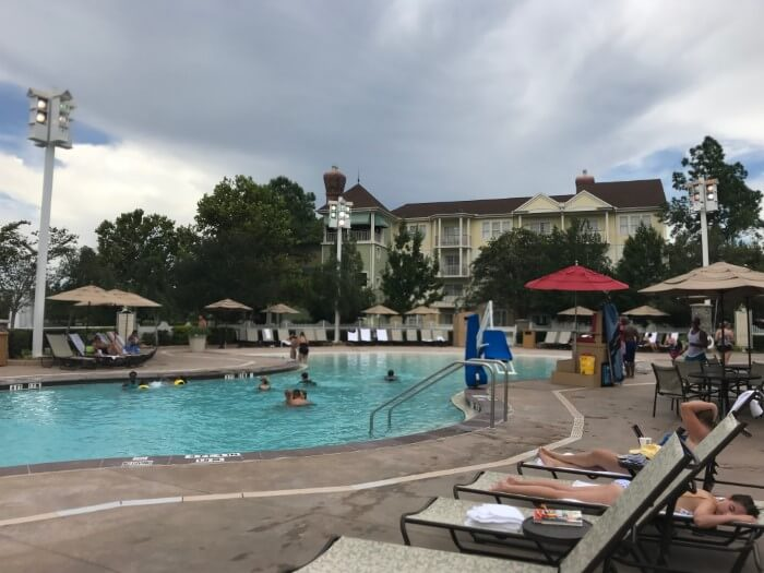 Saratoga Springs is one of the most adult friendly hotels in Disney World