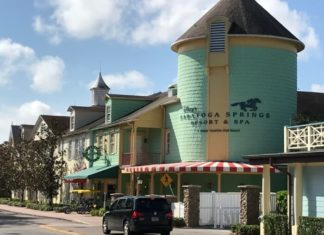 hotel building at Disney's Saratoga Springs Resort & Spa