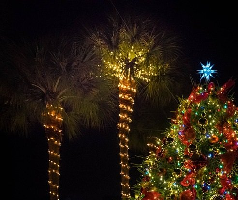 Discount adult & children's admission to St Augustine's Famous Nights of Lights trolley tour