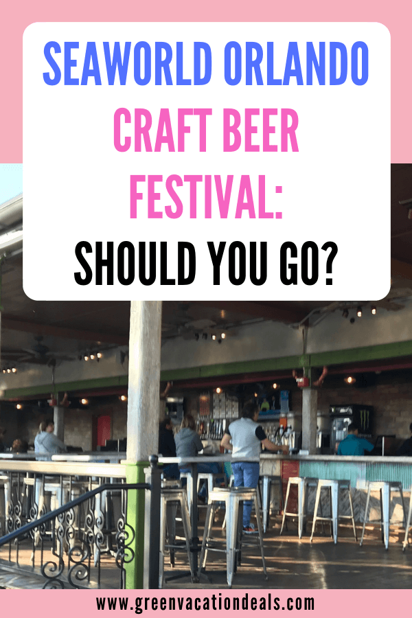 Here's why you should go to SeaWorld Orlando's Craft Beer Festival: there's going to be over 100 craft beers on draft from Florida breweries & over 20 unique flavors prepared by SeaWorld chefs. Sample Funky Buddha Floridian, Florida Avenue, Key West Sunset Ale, Wailua Wheat, Wavemaker Amber Ale, Pineapple Beach, Stella Artois, Cigar City Florida Cracker, Sea Dog Blueberry, Orlando Blonde Ale, New England IPA, Sam Adams 76, Sierra Nevada Torpedo, Yuengling, Guayabera, Jai Lai