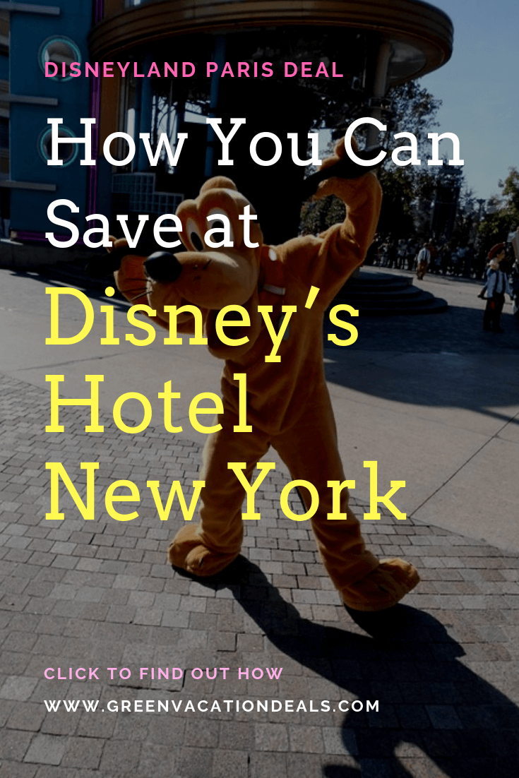 Great travel deal for Disneyland Paris. Save up to 30% on your hotel stay & get discounted tickets to Disneyland Paris & Walt Disney Studios when you book at least 2 nights at Disney's Hotel New York, a luxurious Manhattan-style hotel that's just a 10-minute walk from Disneyland Paris & Walt Disney Studios Park with indoor & outdoor pools, multiple restaurants, spa, video games, tennis, etc. Also get free breakfast & lunch or dinner at the Disney parks or Disney Village