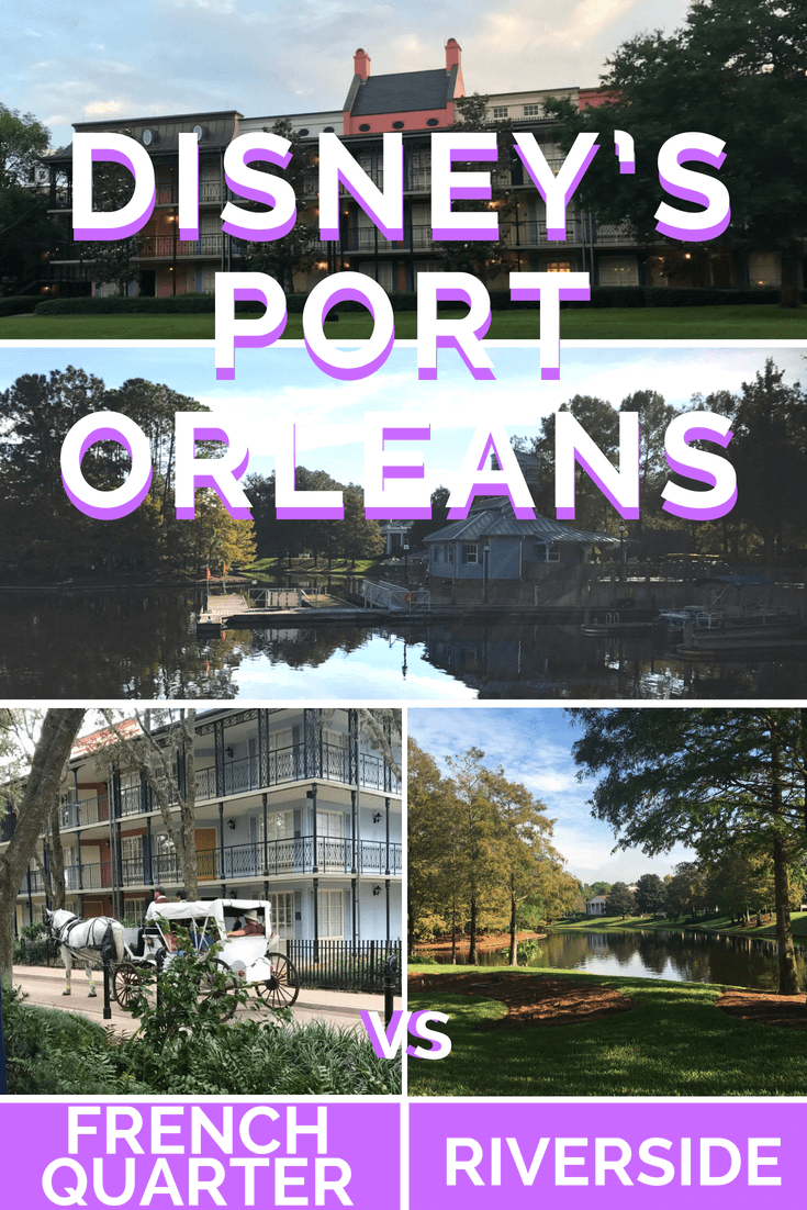 If you're planning a trip to Walt Disney World in Orlando, Florida then consider staying on-site at Port Orleans Resort. There are 2 Port Orleans hotels: Riverside & French Quarter. Here's how to decide which hotel is best for your family
