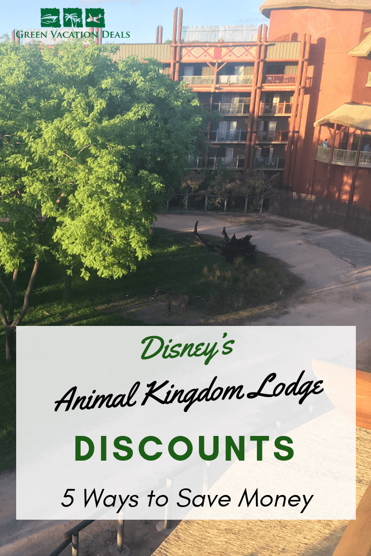 5 ways you can stay at Disney's Animal Kingdom Lodge at Walt Disney World Resort in Orlando, Florida. Find out how to rent a Kidani Village for under $80, get a $100 coupon, get a discounted rate...or stay for free! Must read Disney travel advice for families wanting a deluxe vacation at WDW but need to budget. Enjoy staying on-site with extra magic hours at East African themed lodge where you can see zebras, giraffes, etc. outside your window at a reduced price