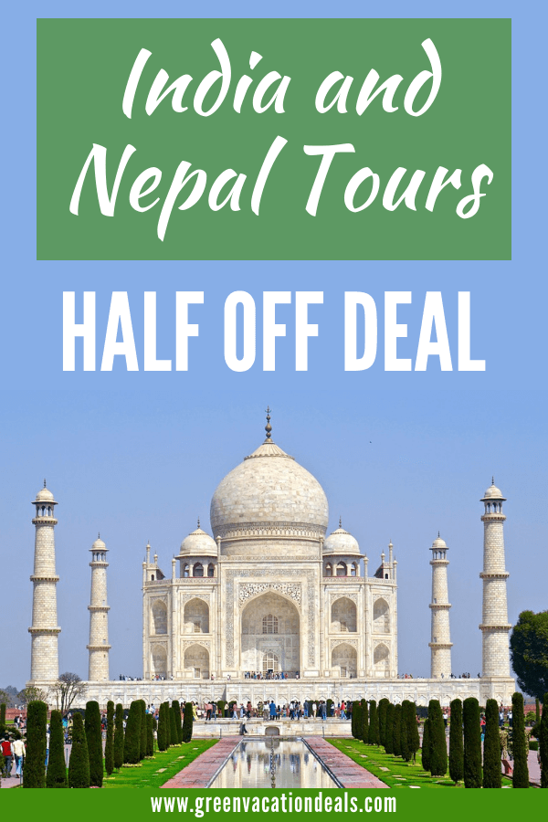 Travel Talk Adventures has a great deal going where you can save 50% off 2019 India & Nepal tours. You'll be able to visit amazing travel destinations like Agra, Amber Fort, Delhi, Fatenpur Sikri, Jaipur, Qutab Minar, Taj Mahal, Chitwan, Kathmandu & Pokhara. Find out how to get a promo code to pay half price for this once-in-a-lifetime experience. This is a limited time offer, so act now