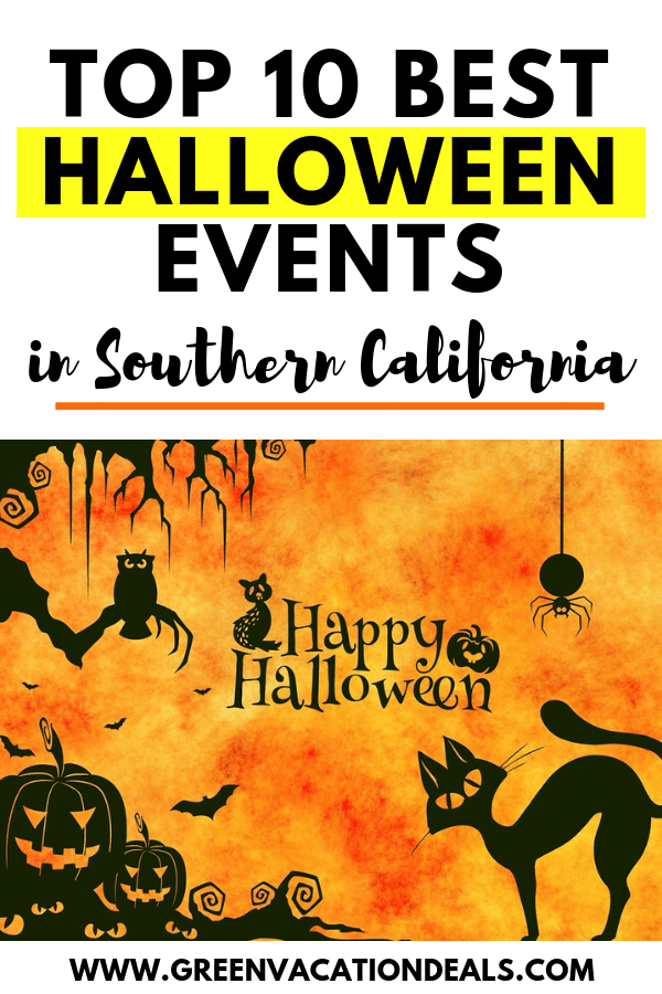 Find out the best 10 Southern California Halloween events in Los Angeles & San Diego areas, some family friendly & some truly terrifying: Knott's Scary Farm, Halloween Horror Nights, Cruisin' Dead Halloween Party Cruise, Haunted Hiking, Haunted Hayride, Mickey's Halloween Party at Disneyland & more!
