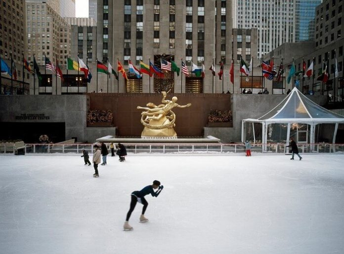 Win flight to New York City hotel stay ice skating experience at Central Park or Rockefeller Center CHristmas concert