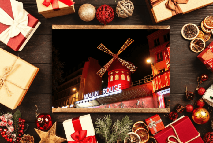 Cheap tickets for Moulin Rouge Paris: Christmas Dinner and Show in Paris