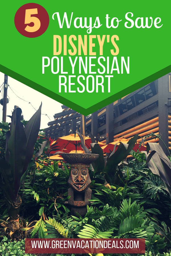 Disney's Polynesian Village Resort is my favorite Disney hotel at Walt Disney World in Orlando, Florida & if you too love Polynesian or have always wanted to stay there I have 5 travel hacks that can save you a lot of money on your stay. Learn how to find out when Polynesian Disney Vacation Club villas are available & how to rent DVC points even if you're not a DVC member, how to get promo code for $100 off, how to earn free Disney gift cards, get discounted rates, etc.