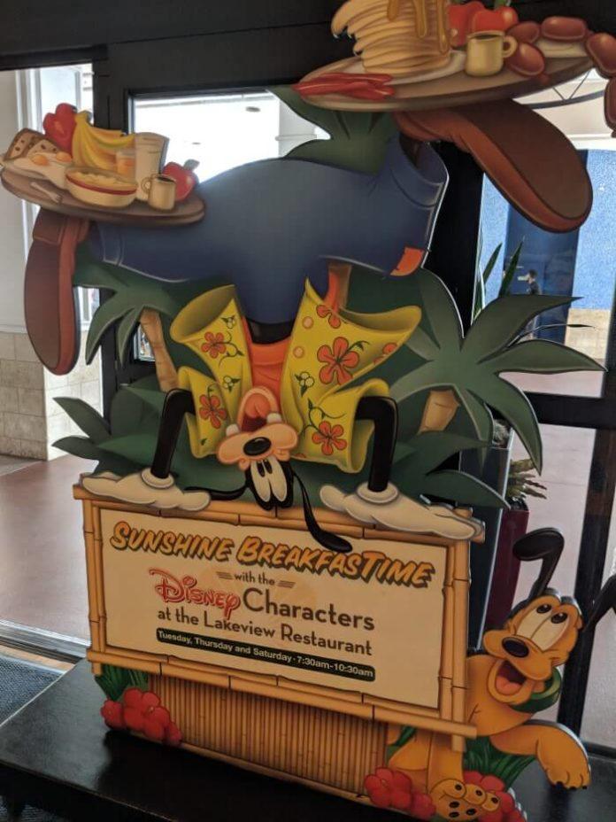 Disney Springs hotels have character breakfasts unlike Disney Value hotels