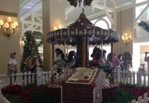 Why book a stay at Christmas time at Yacht & beach Club at Disney World in Orlando FL