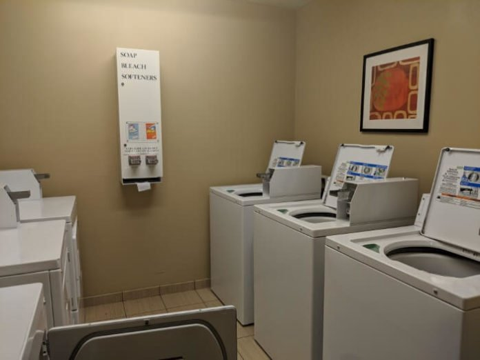 Great hotel for long stay in Mooresville NC hotel with laundry room