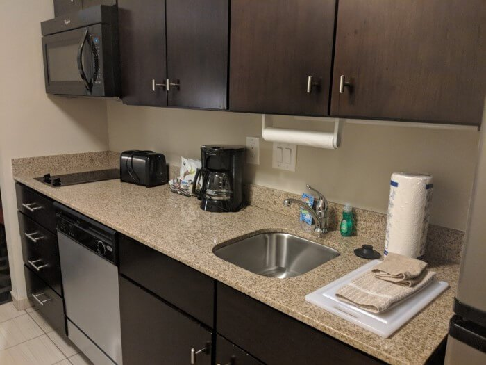 TownPlace Suites Mooresville offer guests rooms with full kitchens