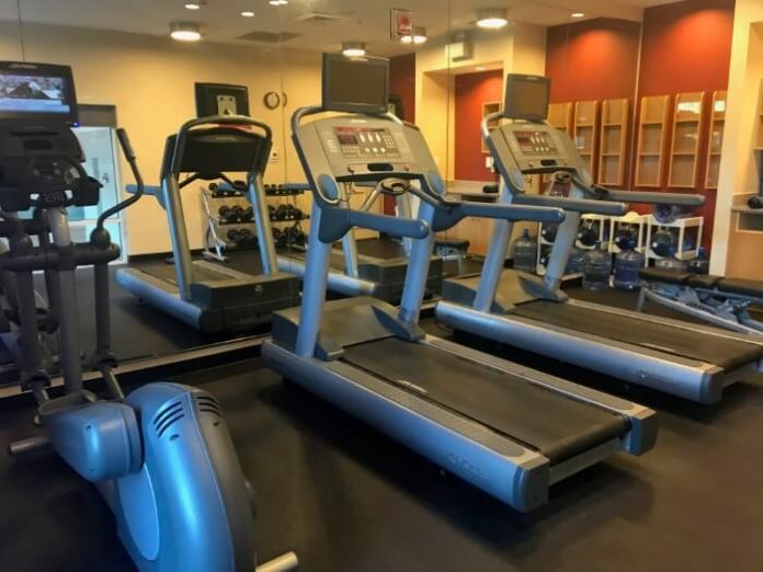 Where to stay in Mooresville NC: hotel with fitness center equipment