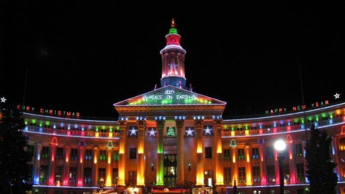 Explore Downtown Denver's Christmas market & holiday lights in tour