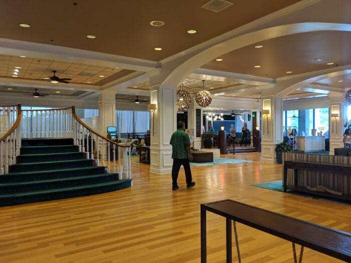 Gorgeous lobby at Wyndham Garden Lake Buena Vista Florida