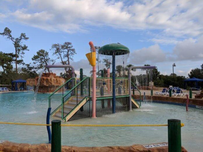 Amazing pool complex at Wyndham Garden Lake Buena Vista Florida