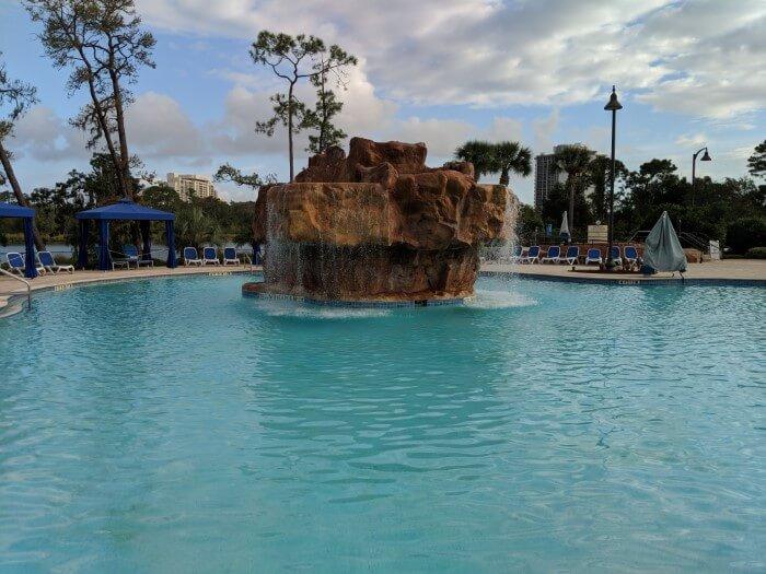 Cheap Disney Springs hotel has amazing pool