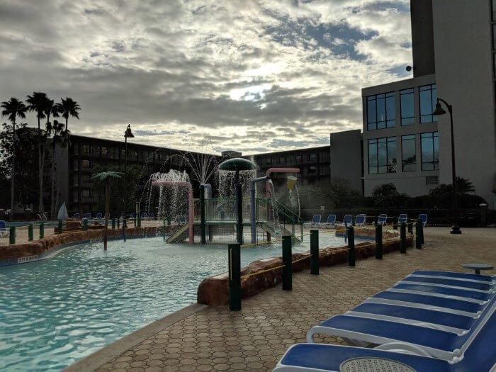 Great pool for kdis & adults at Wyndham Garden Lake Buena Vista FL