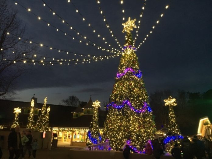 How to save money on admission to CHristmas Town at Busch Gardens theme park in Virginia