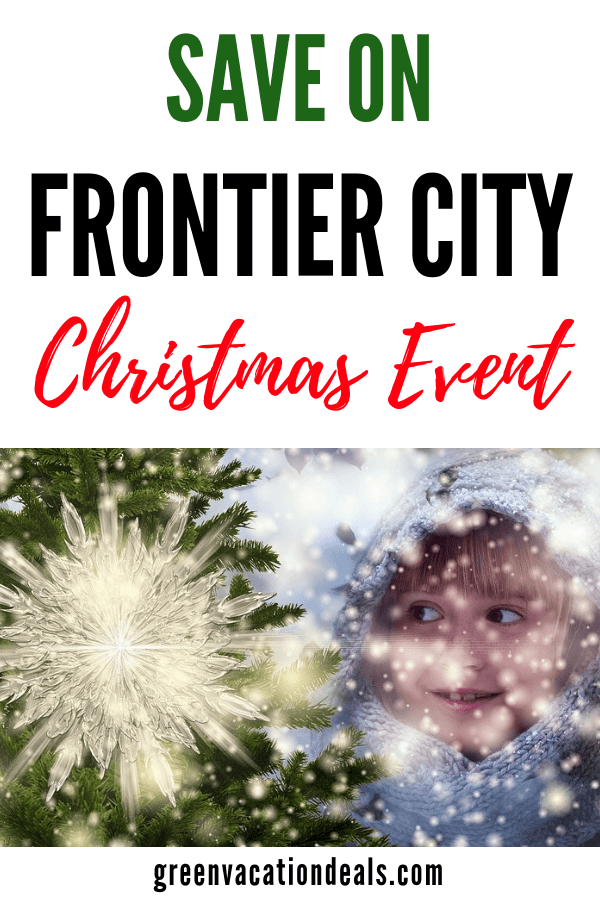 Discounted ticket (up to 40% off!) for Holiday in the Park at Frontier Park in Oklahoma City with visits with Santa Claus, Mrs. Claus & other special guests, holiday-themed shows, Christmas carolers, sing-alongs, music & light show on Main Street, snow machines that create a winter wonderland, etc.