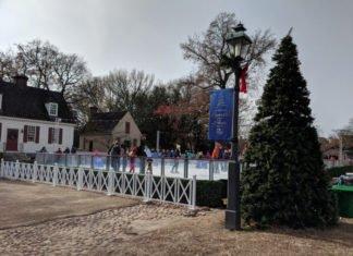 Meet Santa, enjoy holiday treats & ice skating at Colonial Williamsburg during Christmas