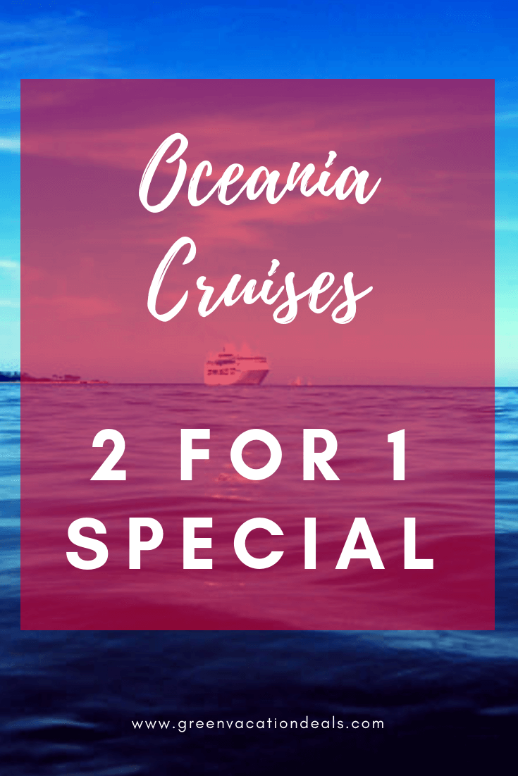 How to save money on cruises with limited time 2 for 1 BOGO cruise deal. You could also get up to $800 in onboard credit, free drinks, free shore excursions, gratuities, unlimited internet, etc. Discounted Alaskan Cruises from Seattle, Vancouver or San Francisco; Caribbean & Cuban cruises from Miami; Europe cruises from Rome, Southampton, Lisbon, Barcelona, Copenhagen, Denmark, Venice, etc.