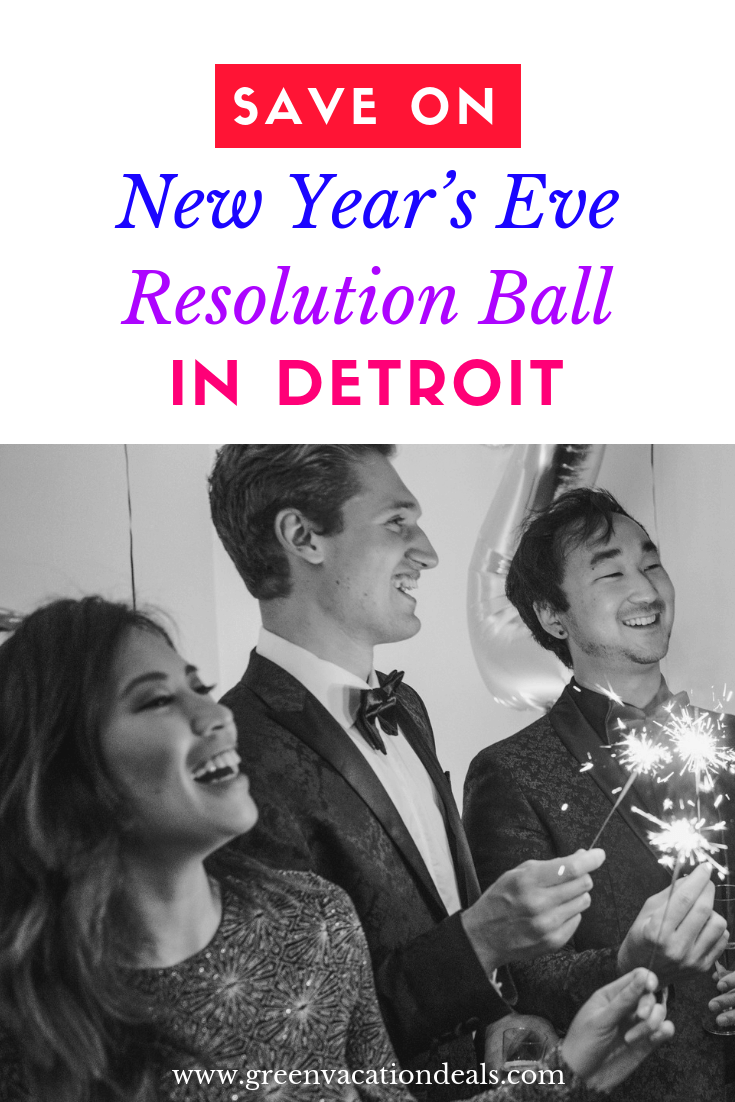 Enjoy the largest & most exclusive New Year's Eve Party in Detroit (and the Midwest) by attending the New Year's Eve Resolution Ball at the Fillmore Detroit - & find out from us how to get discounted tickets! Enjoy Cirque Style Entertainment like illusionists, stilt walkers & stunt performers, champagne, party favors, balloon drop, confetti, live feed of Ball Drop from Times Square on 6 huge TV screens, midnight snack buffet with sliders, pizza, etc.