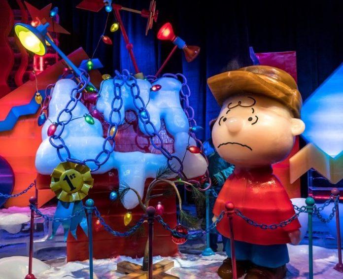 ICE! at National Harbor save money Washington DC Christmas event