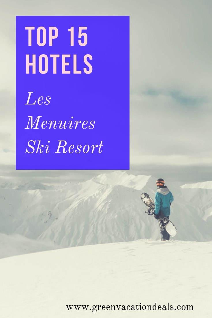 Les Menuires is a wonderful ski resort in the Belleville valley of Les Trois Vallées, located between Saint-Martin-de-Belleville & Val Thorens in France. It would make for a wonderful winter holiday destination with great skiing & snowboarding, so if you're planning a trip there, consider staying at one of these hotels, rated the best by customer reviews