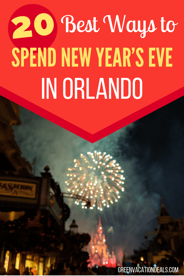 Best places to spend New Year's Eve in Orlando, Florida. Find out about the parties, fireworks & more, for families, kids or adults, at Universal Studios, CityWalk, Royal Pacific Resort, Sapphire Falls, Aventura, Cabana Bay, Portofino Bay, Disney Springs, Boardwalk, Magic Kingdom, EPCOT, SeaWorld, LEGOLAND, Citrus Bowl, etc.