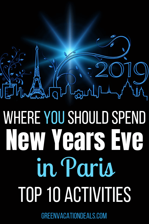 If you're traveling to Paris, France for the holiday season, we have the 10 best New Year's Eve activities you can do. Find out how to take a nighttime Paris tour, Seine River dinner cruise, dinner shows (Moulin Rouge, Paradis Latin, Lido de Paris, Crazy Horse Cabaret), Illuminations Tour, Disneyland Paris New Year's Eve Party, etc.