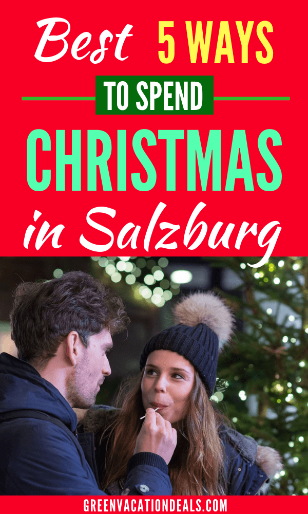Find out the 5 best ways to spend Christmas in Salzburg & get the best prices for these activities. Learn about a Christmas Eve Silent Night Tour, Christmas market tour, Austrian Christmas Market Tour out of Salzburg, Holiday Season Horse-Drawn Sleigh Ride, Christmas Cookies & Apple Strudel Cooking Lesson
